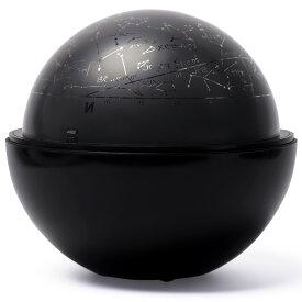 ホームプラネタリウム 家庭用 スターサテライト Rブラック 回転式 星空 おもちゃ 玩具 子供 部屋 天井 星座名 星座線 北天 夜空 投影 インテリア 学習 室内 クリスマスプレゼント