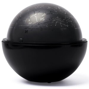 ホームプラネタリウム 家庭用 スターサテライト Rブラック 回転式 星空 おもちゃ 玩具 子供 部屋 天井 星座名 星座線 北天 夜空 投影 インテリア 学習 室内