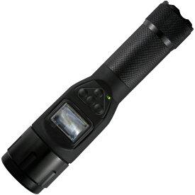 【お買い物マラソン クーポン配布中】懐中電灯型 小型 ビデオカメラ DVCT500 LEDライト付き 充電式 防水 防塵構造 夜間警備 動画 撮影 音声 マイク おすすめ 防犯 防災 工場 保守点検 ムービーカメラ