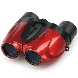 双眼鏡 オペラグラス コンサート ドーム ライブ ズーム 10倍〜50倍 27mm セレス-GIII レッド コンパクト スポーツ観戦