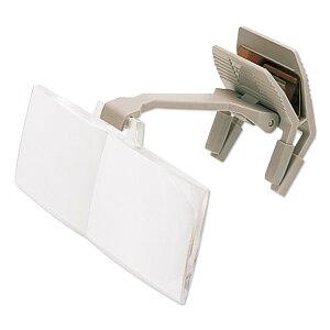 双眼メガネルーペ クリップ式 メガネの上から コプルーペ LC/D6 クリップタイプ 1.4倍 拡大鏡 虫眼鏡 おすすめ おしゃれ ルーペ眼鏡 携帯 まつげエクステ ネイル Carl Zeiss カールツァイス