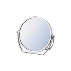 スタンドミラー [鏡] 丸型 3倍拡大鏡 [拡大ミラー] 付き 【ミラー 卓上ミラー 鏡 拡大ミラー】 クリスマスプレゼント