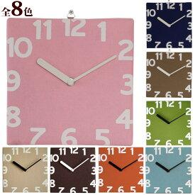 【お買い物マラソン クーポン配布中】トルノ フェルト ウォールクロック 時計 掛け時計 クロック 雑貨