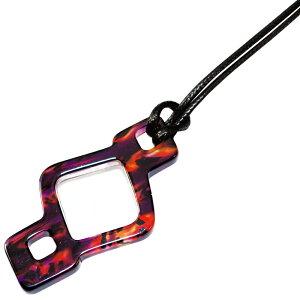 ペンダントシリーズ ルーペ PR-811 ペンダントルーペ 拡大鏡 老眼鏡 レディース かわいい おしゃれ アクセサリー プレゼント