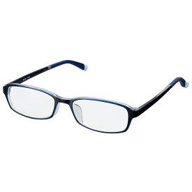 老眼鏡 シンプルビジョン スリム RG-001 ダークブルー シニアグラス リーディンググラス レディース メンズ おしゃれ コンパクト ブルーライトカット PCメガネ