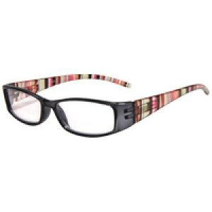老眼鏡 602S リーディンググラス シニアグラス ストライプ コンパクト 女性 男性