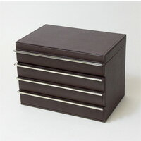 Drawer jewelry box put the 3-stage Horizonte case inidually (toreenashi) jewelry box synthetic leather accessories jewelry boxes jewelry case rosier ... : jewelry boxes with drawers - Aboutintivar.Com
