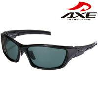 スポーツ 偏光サングラス ASP-450 UVカットUV400 シャイニーブラック AXE アックス ポラライズド 紫外線対策 グッズ スポーツ 偏光グラス ゴルフ 紫外線カット99.9%