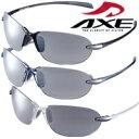 スポーツサングラス AS-205 UV400カット AXE(アックス) リムレス ランニング サイクリング フィッシング トレッキング…