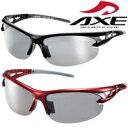 偏光サングラス ASP-495 UV400カット ASP-495 BK ASP-495 RD AXE(アックス) 軽量 ランニング サイクリング フィッシン…