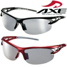 偏光サングラス ASP-495 UV400カット ASP-495 BK ASP-495 RD AXE(アックス) 軽量 ランニング サイクリング フィッシング トレッキング ドライブ クリスマスプレゼント