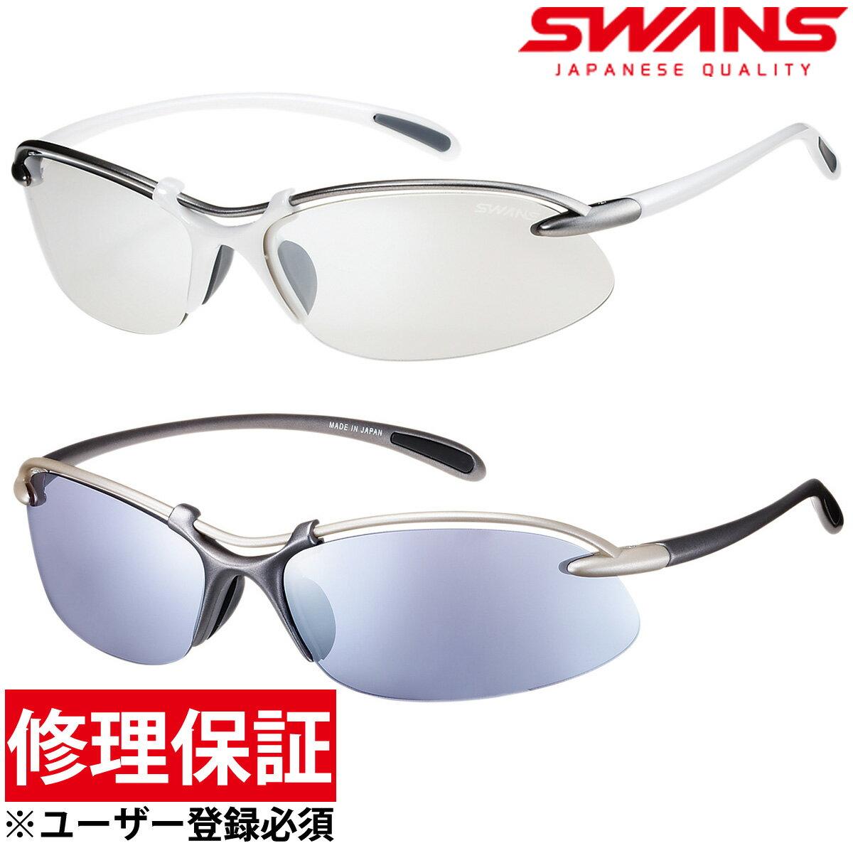 【20日限定クーポン配布中】スポーツサングラス エアレスウェイブ[Airless-Wave] サングラス メンズ SWANS スワンズ ゴルフ UV 紫外線カット SWANS スワンズ
