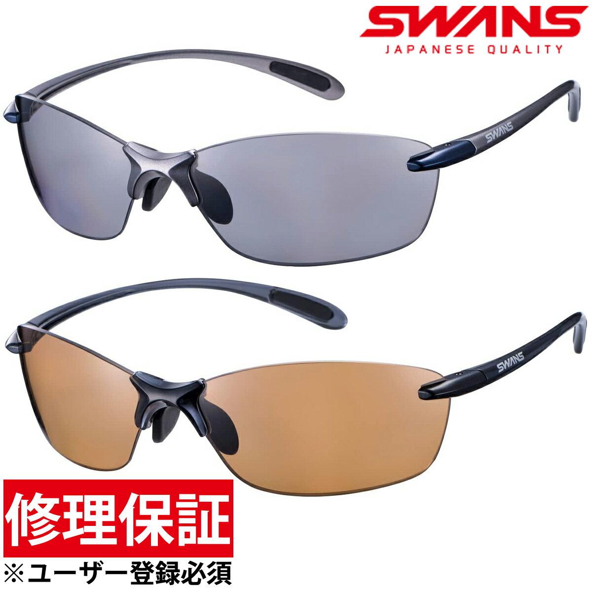 スポーツサングラス Airless Leaffit エアレス・リーフフィット 偏光レンズ SALF-0051 SALF-0065 偏光サングラス メンズ UV 紫外線カット おすすめ 人気 おしゃれ SWANS