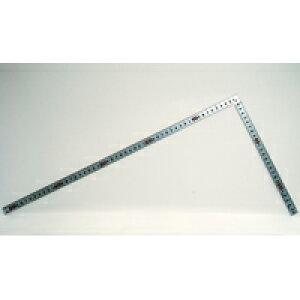 曲尺 平ぴた シルバー 50cm表裏同目 JIS 10032 かねじゃく さしがね 定規 ステンレス シンワ測定