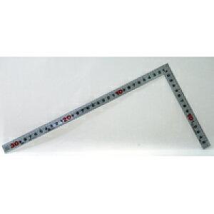 曲尺角厚 シルバー 30cm裏面角目 JIS 10286 かねじゃく さしがね 定規 ステンレス シンワ測定