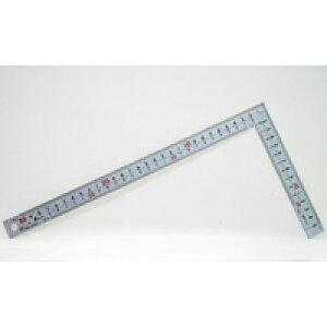 曲尺厚手広巾 シルバー 30cm表裏同目 8段目盛 cm表示 JIS 10451 かねじゃく さしがね 定規 ステンレス シンワ測定