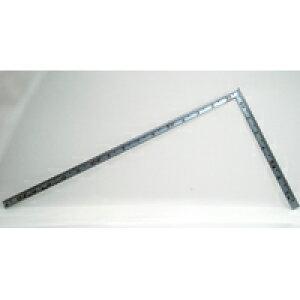 曲尺高級角薄 シルバー 1尺5寸 裏面角目 角薄甚五郎 10845 かねじゃく さしがね 定規 ステンレス シンワ測定