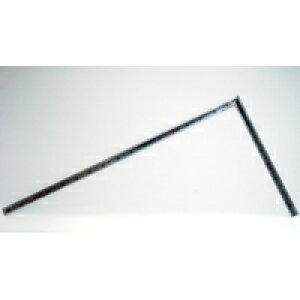 曲尺高級角厚 シルバー 1尺6寸 裏面角目 匠甚五郎 10855 かねじゃく さしがね 定規 ステンレス シンワ測定