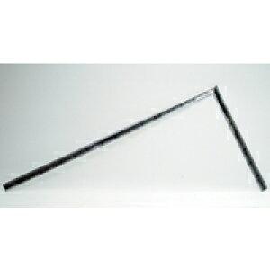 曲尺高級角厚 シルバー 1尺5寸 裏面角目 匠甚五郎しなやか 10877 かねじゃく さしがね 定規 ステンレス シンワ測定