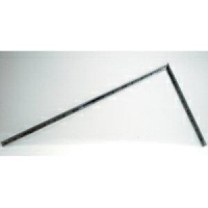 曲尺高級角厚 シルバー 1尺6寸 裏面角目 匠甚五郎しなやか 10878 かねじゃく さしがね 定規 ステンレス シンワ測定