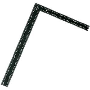 ラフタースコヤ 黒色 60×40cm白目盛 64548 測定 工具 直角 曲尺 定規 DIY シンワ測定