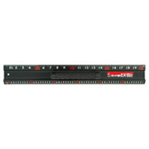 アルミカッター定規 カット師EX 60cm併用目盛 取手付 65031 定規 カッター定規 ステン鋼 シンワ測定