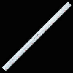 アルミカッター定規 カット師 1m 併用目盛 定規 カッター定規 ステン鋼 シンワ測定