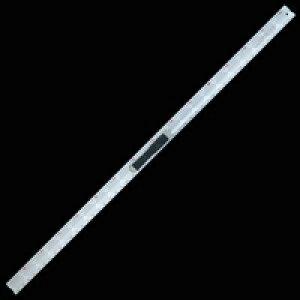 アルミカッター定規 カット師 1.5m 併用目盛 取手付 65096 定規 カッター定規 ステン鋼 シンワ測定