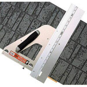 丸ノコガイド定規 エルアングル 45cm併用目盛 補助板付 77899 測定機器 測定工具 側量用品 定規 大工道具 シンワ測定