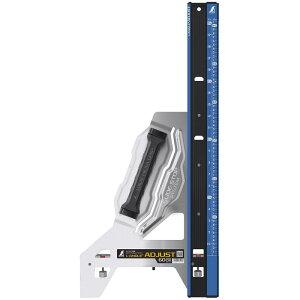 丸ノコガイド定規 エルアングルPlusアジャスト 60cm 併用目盛 シンワ測定 73181 丸のこ 測定 工具 DIY