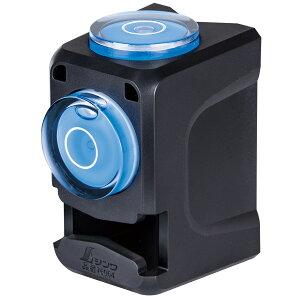 水平器 垂直器 ミニレベル Revo キューブ型 ポール用 気泡管 確認 計測工具 シンワ測定