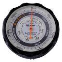 楽天市場 コンパス 方位磁石 高度計 気圧計 温度計 トラベルエイド 6 In 1 オイルコンパス 登山 トレッキング 釣り ドライブ 方位磁針 ベルト 携帯 ルーペスタジオ