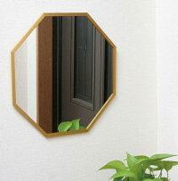 玄関に八角の鏡