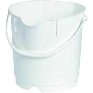 バケツ(HACCP対応) バーテック バーキュートプラス カラーバケツ 9L 白 BCP-CB9W [69801021] 69801021 販売単位:1 送料無料