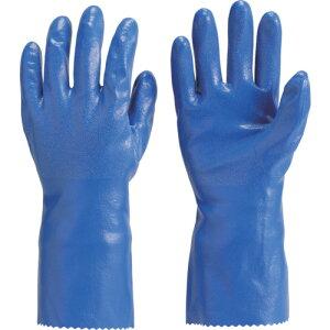 ニトリルゴム手袋 裏布付 TRUSCO トラスコ中山 厚手手袋 ロングタイプ Mサイズ [DPM-6630-M] DPM6630M 販売単位:1