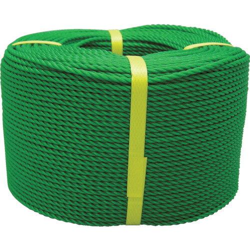【20日限定クーポン配布中】ユタカ ロープ PEロープ巻物 3φ×200m グリーン [PE-73] PE73 販売単位:1