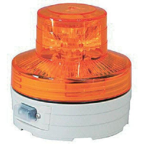 日動 電池式LED回転灯ニコUFO 夜間自動点灯タイプ 黄 [NU-BY] NUBY 販売単位:1 送料無料