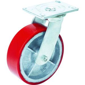 OH スーパーストロングキャスターHシリーズ超重荷重用 ウレタン車 車輪径150mm [H14FU-150] H14FU150 販売単位:1 送料無料