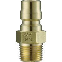 ナッククイックカップリングTL型真鍮製メネジ取付用[CTL12PM2]