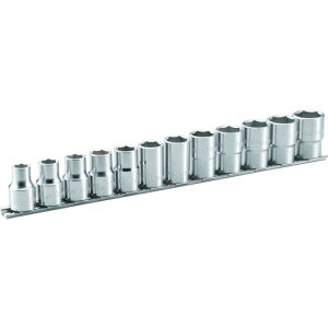 TONE ソケットセット(6角・ホルダー付) 12pcs [HS412] HS412 販売単位:1 送料無料