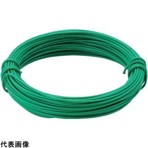 TRUSCO トラスコ中山 カラー針金 小巻タイプ・18番手 緑 線径1.2mm [TCWS-12GN] TCWS12GN 販売単位:1
