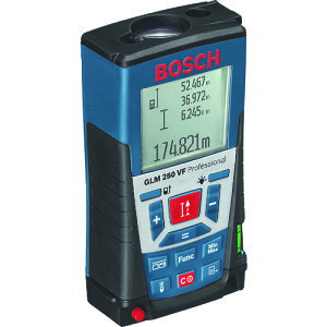 ボッシュ レーザー距離計 測定範囲0.05~250m [GLM250VF] GLM250VF 販売単位:1 送料無料