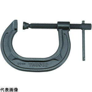 TRUSCO トラスコ中山 C型シャコ万力 75mm [TCC-75N] TCC75N 販売単位:1