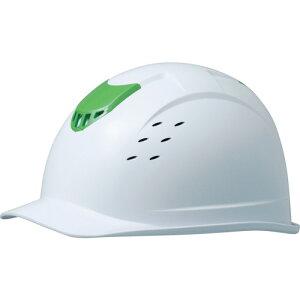 ミドリ安全 ABS製ヘルメット 高通気タイプ ホワイト [SC-13BVRA-KP-W/GN] SC13BVRAKPWGN 販売単位:1
