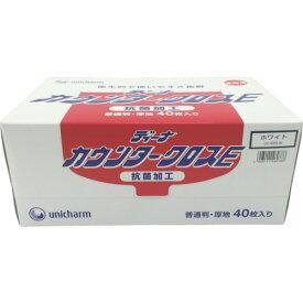 キッチンタオル キッチンペーパー 40枚 unicharm 日本製 ふきん 食器拭き 水切り 油吸収 ユニ・チャーム ディーナ GディーナカウンタークロスE 普通判厚地 ホワイト [46078] 46078 販売単位:1