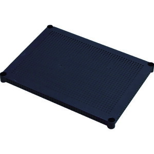 IRIS 530745 メタルラックパンチング棚板 61cm ブラック [MR-61TP-BK] MR61TPBK 販売単位:1