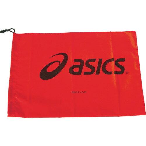 アシックス シューバッグ(M) レッド(28×40cm) [TZS986.23-F] TZS986.23F 販売単位:1