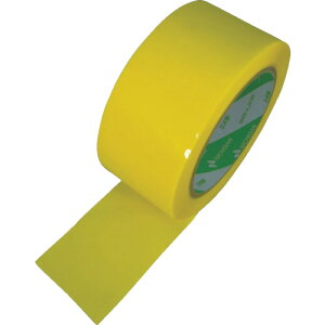 OPP ポリプロピレンカラーテープ ニチバン カートンテープ 660黄-50 50mm×50m [6602-50] 660250 販売単位:1