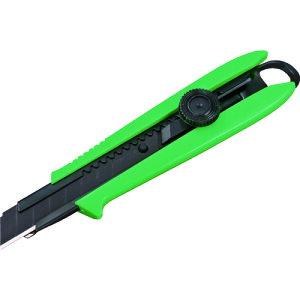 カッターナイフ カッター ナイフ おすすめ 工具 タジマ ドライバーカッターL501 デイトナグリーン [DCL501DGCL] DCL501DGCL 販売単位:1