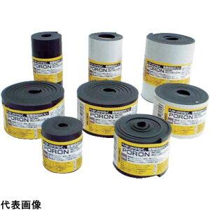 樹脂素材 イノアック マイクロセルウレタンロールPORON 黒 5×100mm×1M巻(テ [L24-5100-MT] L245100MT 販売単位:1